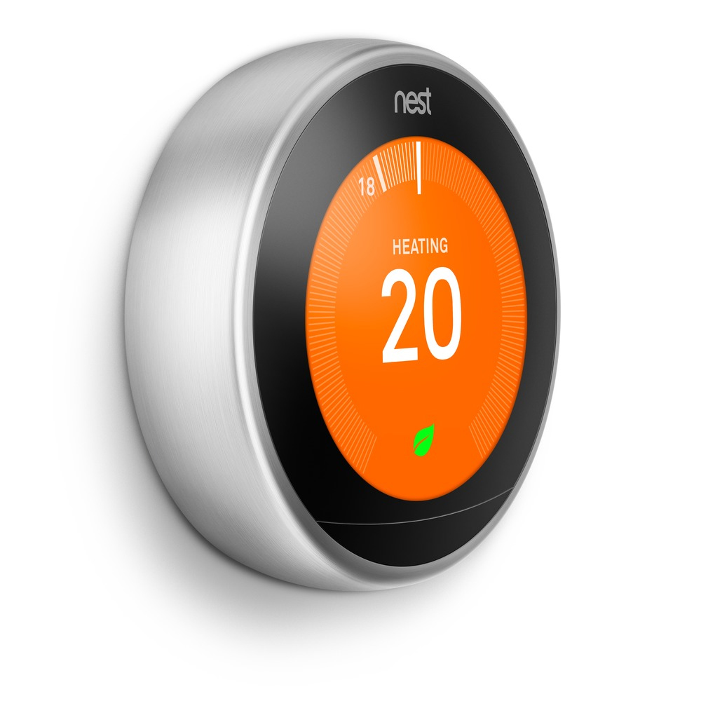 Picture of a Nest thermostat